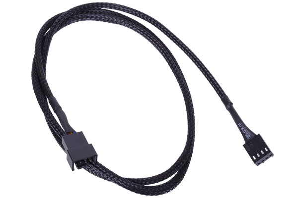 Phobya 4Pin PWM extension 90cm - black