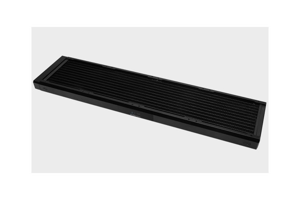 BarrowCH Chameleon Fish series removable 480mm Radiator with display screen POM edition - Classic Black
