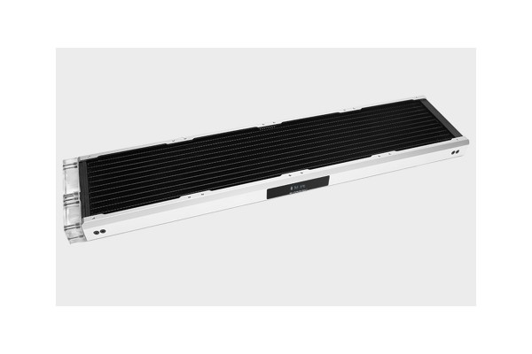 BarrowCH Chameleon Fish series removable 480mm Radiator with display screen PMMA edition - Matt Silver