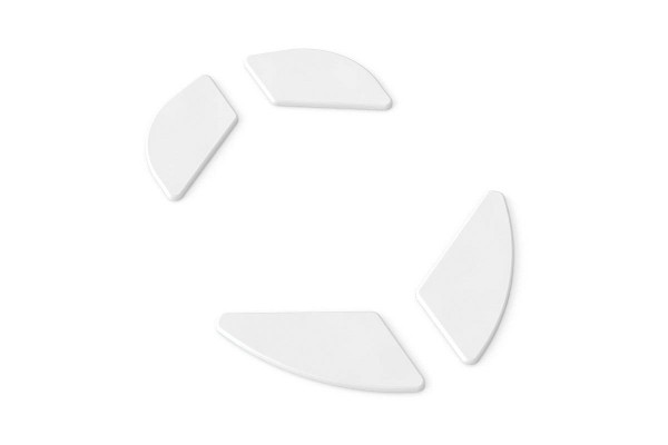 Glorious PC Gaming Race Model O G-Skatez replacement glides 1 Set - white