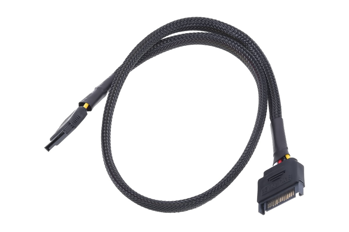 Phobya Sata Power Extension Internal 60cm Black Cables Fan 3pin To 2pin Y Cable Splitter Wire On Aquatuning Australia
