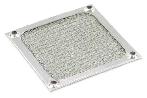 air filter 80mm color silver