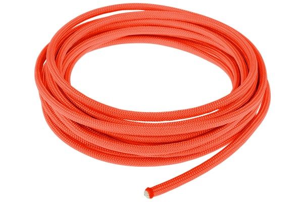 Alphacool AlphaCord Sleeve 4mm - 3,3m (10ft) - Neon Orange (Paracord 550 Typ 3)