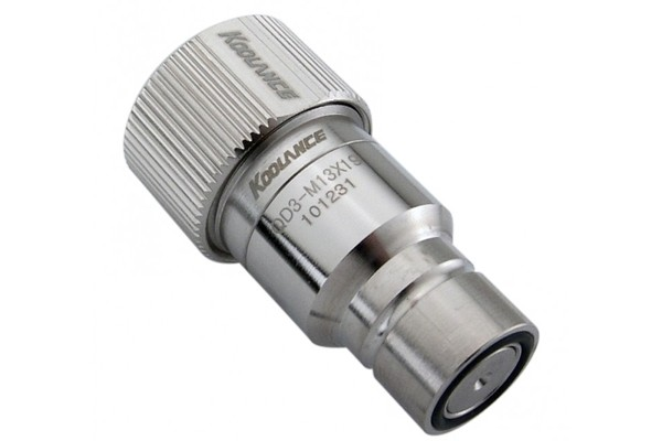 """Koolance quick release connector 19/13mm (ID 1/2"""" OD 3/4"""") male (High Flow) - QD3"""