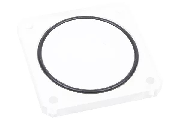 Alphacool replacement cover Plexi for Quad Laing DDC - Dual 5,25 Bay Station